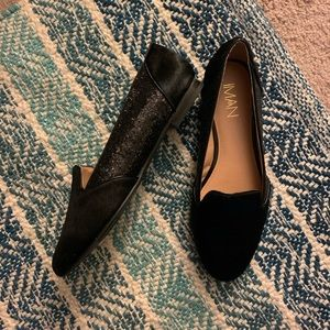 Black Loafers/flats